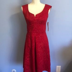 Maggy London Red dress NWT